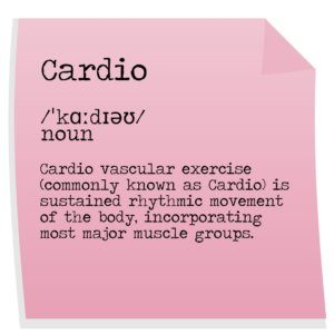 Cardio exercise definition